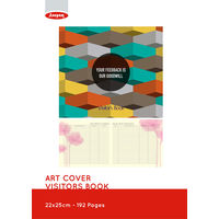 Anupam Visitors Book Art Cover (22 cm x 25 cm)