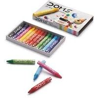 Doms Wax Crayons (12 Shades, Pack of 10)