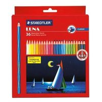 Staedtler Luna Triangular Water Color Pencil 36 Shades (137 10 C36)
