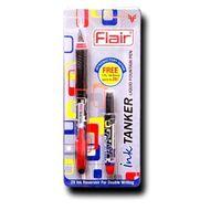 Flair Ink Tanker Liquid Fountian Pen-Blue, 1 Pc