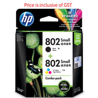 HP 802 Combo Ink Cartridge Pack ( Black & Tricolour CR312AA)