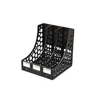 Solo File & Book Rack (XL, FS 301, Black)