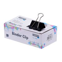 Chrome Binder Clips Black 32 mm (9963)