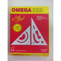 Omega Genius Set Square (8* 10 P) (1508)
