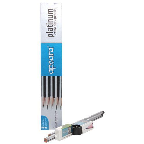 Apsara Platinum Pencils ( 50 Pencils)