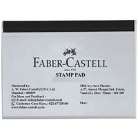 Faber Castell Stamp Pad - Medium, Black