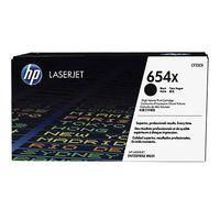 HP 654X Black LaserJet Toner Cartridge