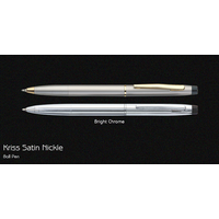Pierre Cardin Kriss Satin Nickle Ball Pen