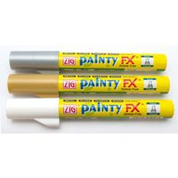 Zig Paint Marker-Silver, 5 Pcs