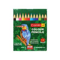 Camlin Half Size Colour Pencils, 10 Shades, Pack of 3
