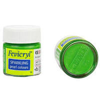 Fevicryl Sparkling Pearl Colour Light Green 10ML (709) Pack of 5)