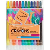 Navneet Youva Twistable Crayons 12 Shades (35091)