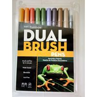 Tombow Dual Brush Pen 10 Shades (ABT-10C PO)
