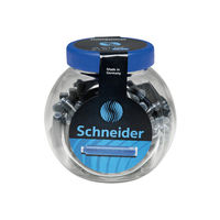 Schneider Ink Cartridges 100 Pcs, Blue Ink