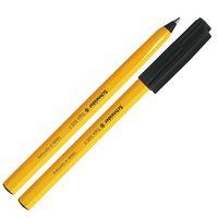 Schneider Tops 505 Fine Tip Ballpoint Pen (Black, Pack of 10)