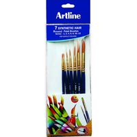 Artline Paint Brush- Synthetic Round Set Of 7