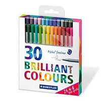 Staedtler Triplus Fineliner Pen (30 colors) 334 C30P