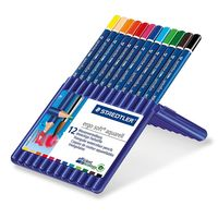 Staedtler Ergosoft Watercolor Pencil In Box - Set Of 12 Colors
