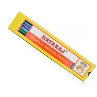 Nataraj Metallic Pencil (10 Pencils in a Pack)