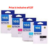 Epson 166 ink cartridge set-of-4 (Cyan, Magenta, Yellow, Black)