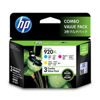 HP 920 XL Combo CMY Ink Cartridge Pack(E5Y50AA)