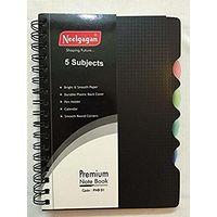 Neelgagan 5 Subject Premium Notebook No. 1