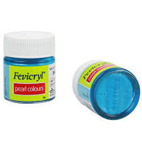 Fevicryl Pearl Colour Sky Blue 10ML (519) (Pack of 5)