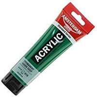 Amsterdam Acrylic Colour Tube Standard Series 120ml Permanent Green Deep (17096192)