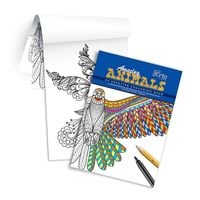 Campap Creative Colouring Book- Amazing Animals