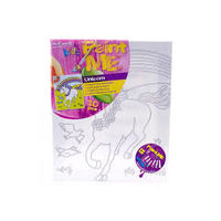 Mont Marte Kids Paint Me Set 9pce - Unicorn (MMKC2004+ B980)
