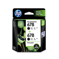 HP 678 Twin Pack Black Ink Cartridge (LOS23AA)