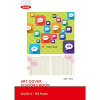Anupam Art Cover Visitor's Book 192 Pages