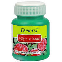 Fevicryl Acrylic Colour 100ML Light Green (212)