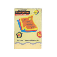 Prompt me Sticky Notepad Voilet 2X3 (Pack of 6)