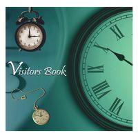Scholar Visitors Book - Metallic A4 Landscape (192 Pages)