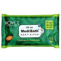 Novel Medibath-Hygine Bath Wipes (10 Sheets)
