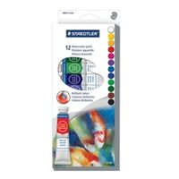Staedtler Karat Water Color Paint Tubes 12 Shades (8880 C12)