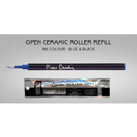 Pierre Cardin Open Ceramic Roller Refill (Blue, 5pcs)