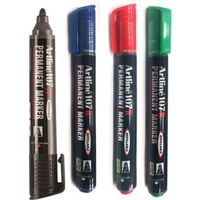 Artline 107 R Permanent Marker (4 Mix Colours)