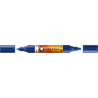 Molotow One4All HS+ C6 Twin Marker Pen 1.5mm/4mm True Blue