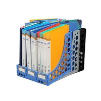 Solo File & Magazine Rack( Blue, XL, FS201)