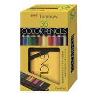 Tombow 1500 Series Colour Pencils 36 Shades Roll Up Case (CR-NQ36C)