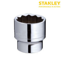 Stanley 21mm 1/2 inch Standard Socket 12 Point 1-88-793 (Pack of 3)