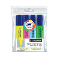 Staedtler Texsurfer Classic Highlighter Pen ( 4 Colours) 364 WP4