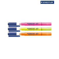 Staedtler Highlighter Gel Texsurfer Highlighter Pen ( 3 Colours) 264 BK3