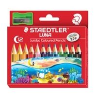 Staedtler Luna Jumbo Learner's Color Pencil 12 Shades (139 C12)