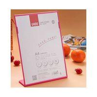 Uhoo Card Stand 6250 A4 - Pink