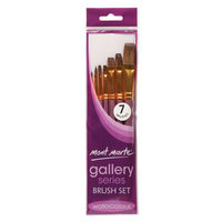 Mont Marte Gallery Series Brush Set Watercolour 7pc (BMHS0026)