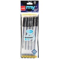Cello My gel Pen Black, Packof 10