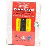 Motex Labels 2612 YMRP